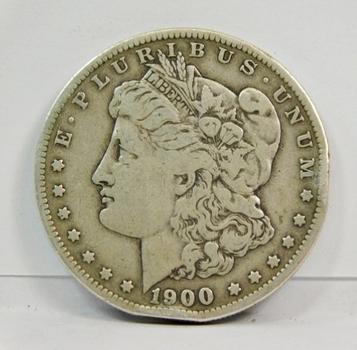 1900-S Morgan Silver Dollar - San Francisco Minted