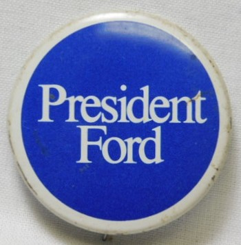 1976 Gerald Ford Presidential Political Button