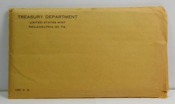 1957 U.S. Silver Proof Set in Original Mint Packaging and Envelope
