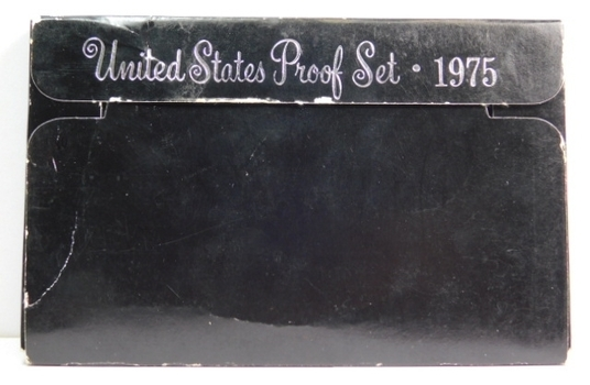 1975 United States Proof Set with Original Box