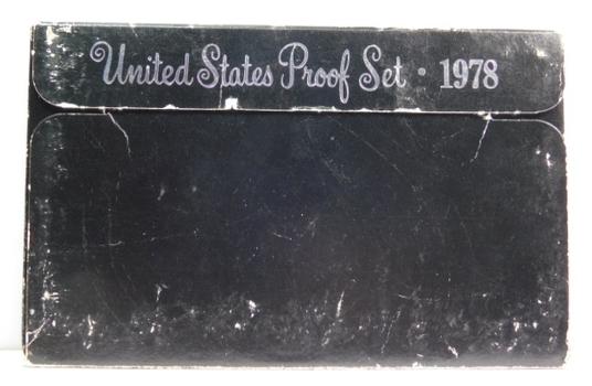 1978 United States Proof Set with Original Box