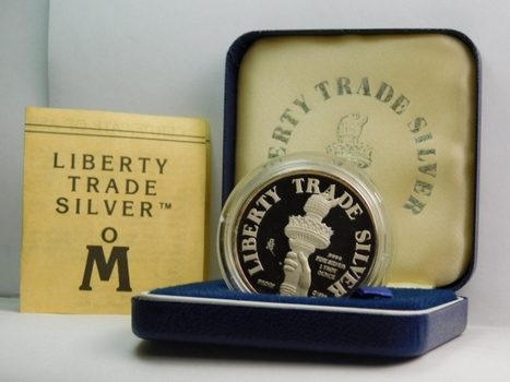 Liberty Trade Struck at the Casa de Moneda de Mexico Facilities Commemorating it's 450th Anniversary Silver - 1 Troy Ounce .999 Fine Silver - Silver Mined and Refined in Mexico