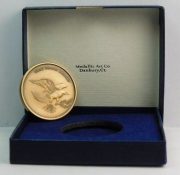 American Security Council - Peace Through Strength - Commemorative Coin/Medal Minted by the Medallic Art Co. - In Original Presentation Box