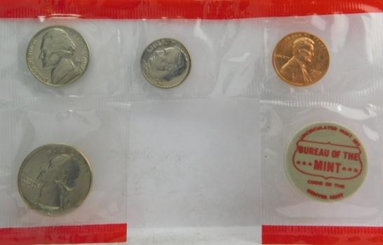 Partial 1970 Denver Mint Set