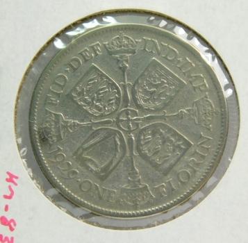 1929 Great Britain Silver Florin