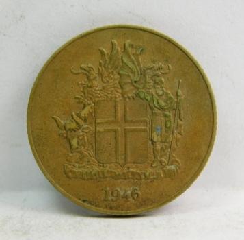 1946 Iceland 1 Krona