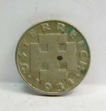 """1931 Austrian """"5 Groschen"""""""