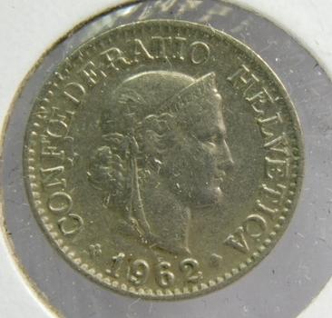 1962B Switzerland 10 Rappen