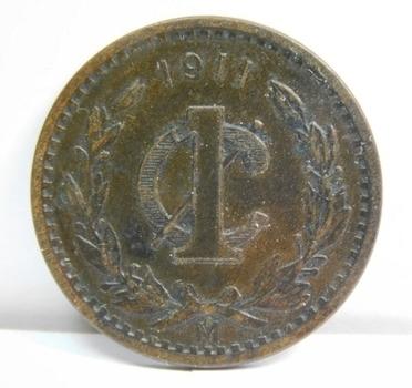 1911 Mexico Centavo - High Grade!