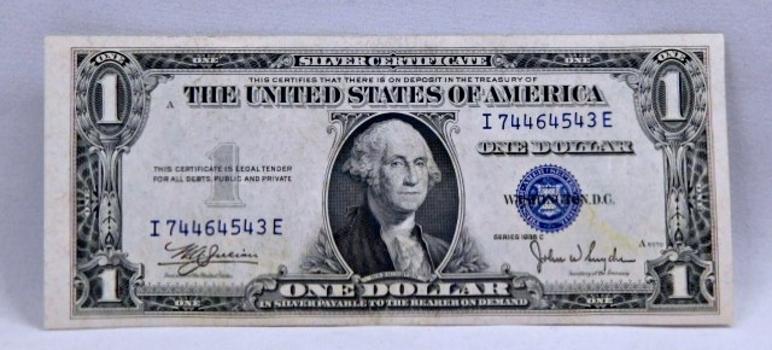 1935C $1 Silver Certificate - Crisp Note