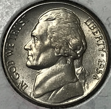 1938 Jefferson Nickel - First Year of Issue - High Grade