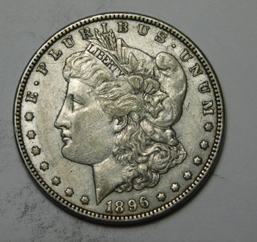 1896 Morgan Silver Dollar - Nice Detail - Philadelphia Minted