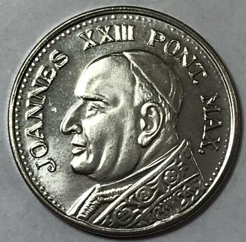 Pope John XXIII Vatican City Silver Coin/Medal