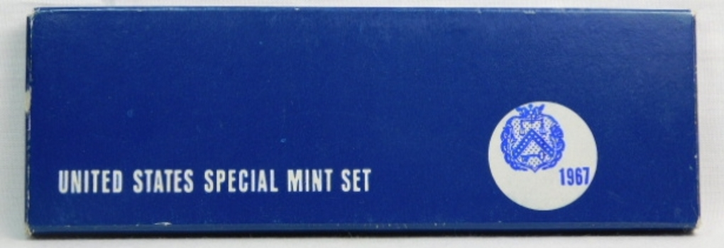 1967 Unites States Special Silver Mint Set - In Original Mint Box  and Plastic Holder - Philadelphia Minted