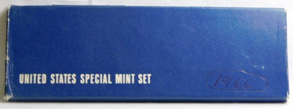 1966 United States SILVER Special Mint Set in a US Mint Holder and Box