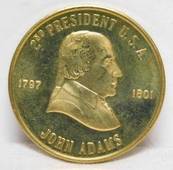 1797-1801 John Adams 2nd President Commemorative Coin/Medal