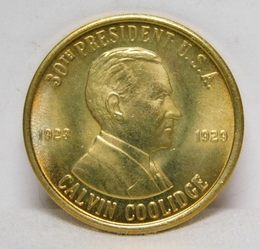 1923-1929 Calvin Coolidge 30th President Commemorative Coin/Medal