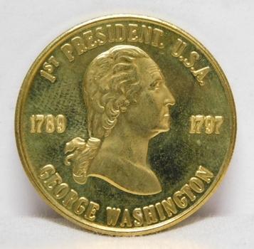 1789-1797 George Washington 1st President Commemorative Coin/Medal