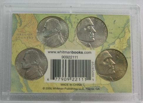 2005 Westward Series Nickels in Whitman Holder