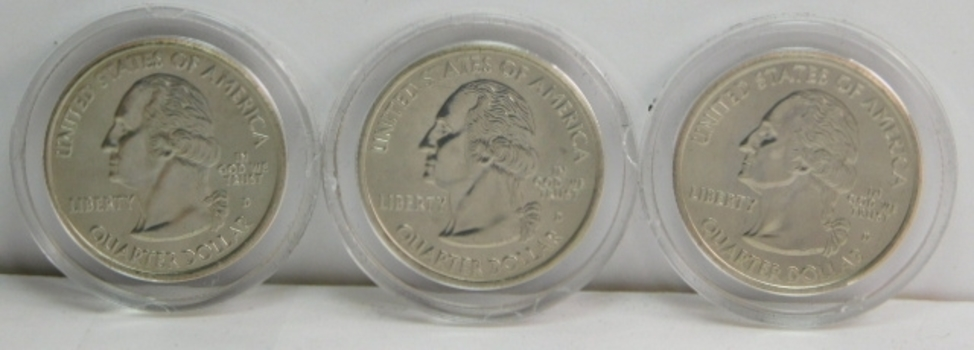 2009 State Quarters: District of Columbia & US Territories in Custom Holder