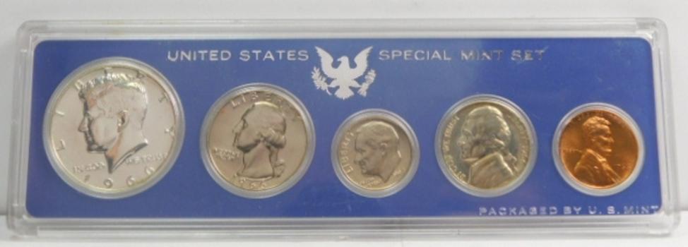 1966 Special Mint Set Original U.S. Mint Holder