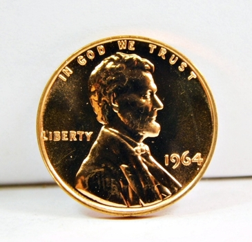 1964 Proof Lincoln Memorial Cent