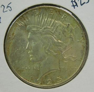 1925 Peace Silver Dollar - Excellent Detail - Philadelphia Minted