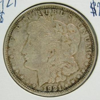 1921 Morgan Silver Dollar - Nice Detail - Struck at Philadelphia