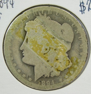 1894 Morgan Silver Dollar - Well Outlined with Clear Date - Struck at Philadelphia