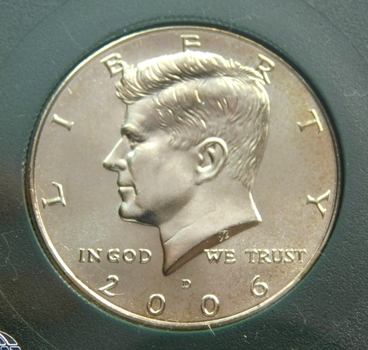 2006-D Kennedy Half Dollar Uncirculated Satin Finish