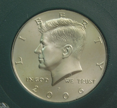 2006-P Kennedy Half Dollar Uncirculated Satin Finish
