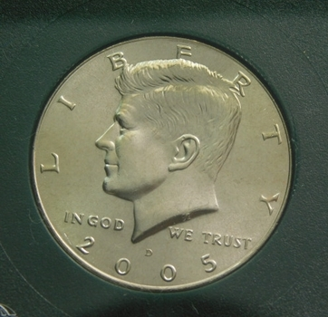 2005-D Kennedy Half Dollar Uncirculated Satin Finish