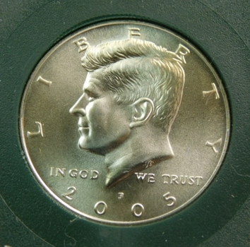 2005-P Kennedy Half Dollar Uncirculated Satin Finish