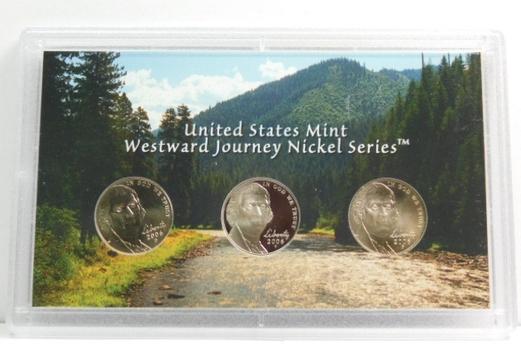 2006 Westward Journey Nickel Series Set