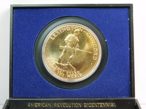1975 American Revolution Bicentennial Medal