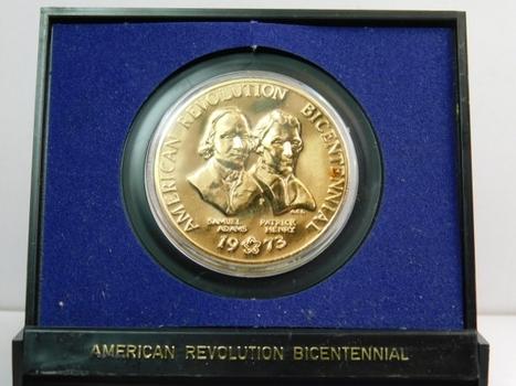 1973 American Revolution Bicentennial Medal