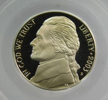 2003-S PCGS PR69DCAM Jefferson Nickel
