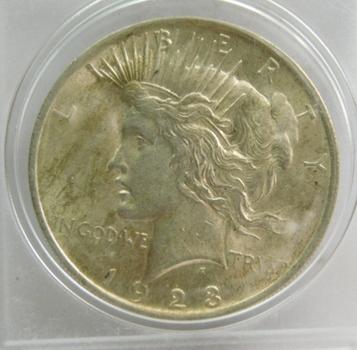 1923 Peace Silver Dollar - Nice Detail - Struck at Philadelphia