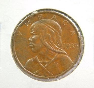 1935 Panama 1 Centesimo - High Grade
