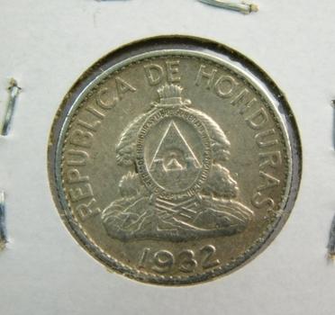 1932 Honduras Silver 20 Centavos - Low Mintage!!!