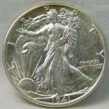 NICE! 1941-D Silver Walking Liberty Half Dollar - Excellent Detail!