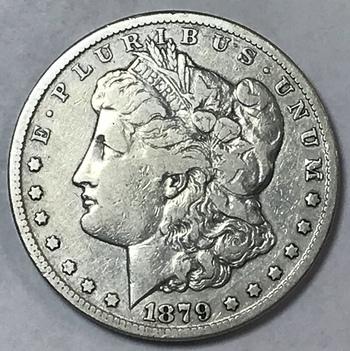 1879-CC Carson City Morgan Silver Dollar