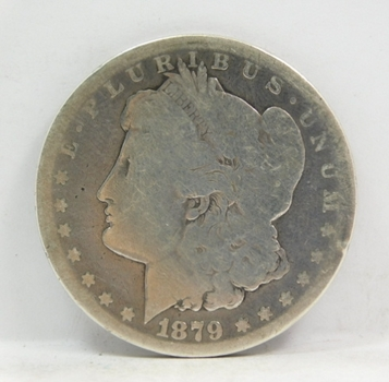 1879-S Morgan Silver Dollar - San Francisco Minted