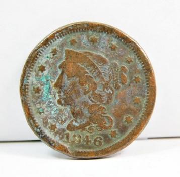 1846 US Large Cent