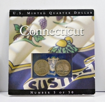 1999 Connecticut State Quarter Set from the Philadelphia and Denver Mints