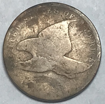 1850's Flying Eagle Cent