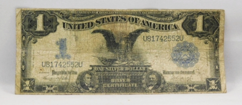1899 $1 Black Eagle Large Size Silver Certificate