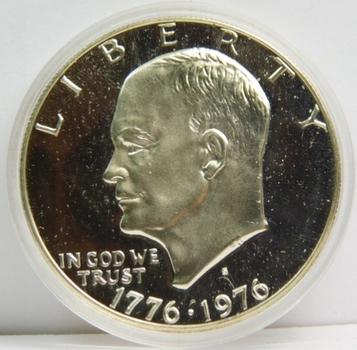 1976-s Gem Proof Silver Eisenhower Dollar (Bicentennial)
