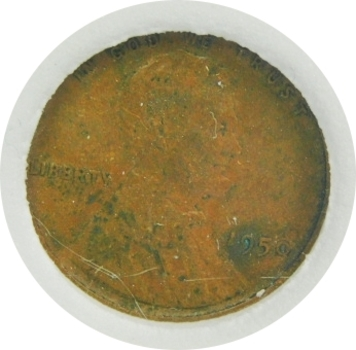 1950 Early Wheat Cent INB
