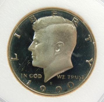 1990-S INB Gem Proof DCAM Kennedy Half